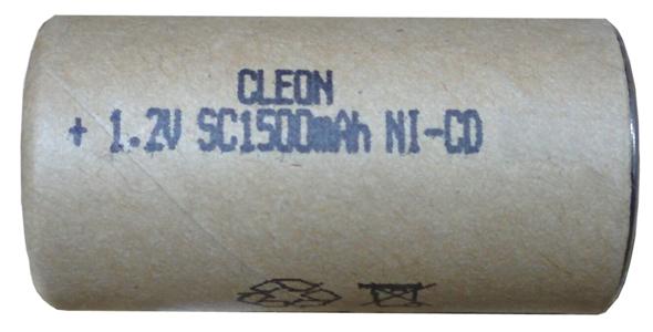 Аккумуляторный элемент NiCd SC 1,2В 1,5 Ач
